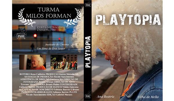 Capa do curta - Playtopia